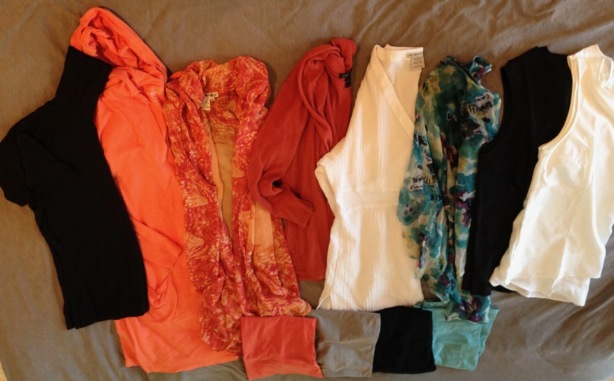 NZ capsule wardrobe tops - 1