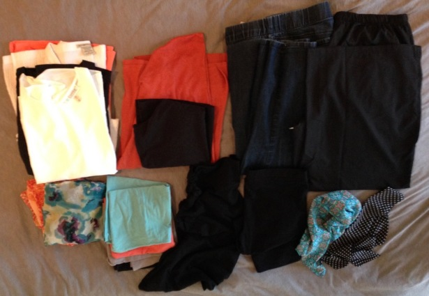 NZ capsule wardrobe TOTAL - 1