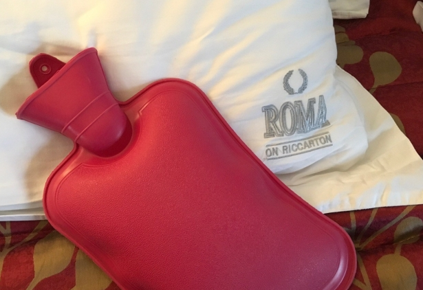 NZ Motel Roma on Riccarton - bed linen hot water bottle