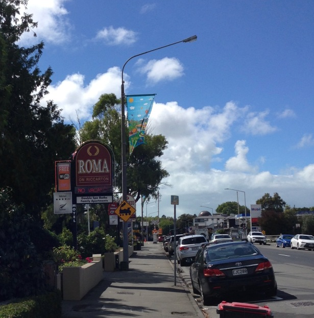 NZ Motel Roma on Riccarton - street view