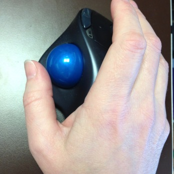 Bluetooth Logitech trackball M570 - 2