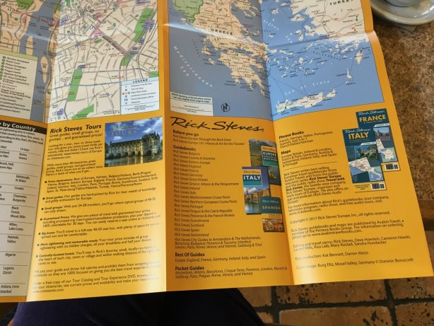 Europe map rail train trip plan compare Rick Steves ADS