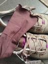 Angelrox Cacao glove with Ahnu Sugarpine sneaker in Alder Bark