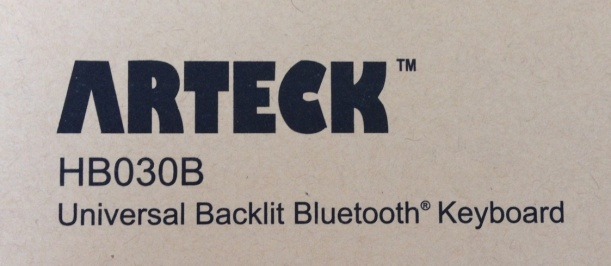 Travel bluetooth keyboard Arteck - logo