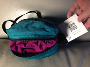 Angelrox Shawl in Tom Bihn Travel Cubelet