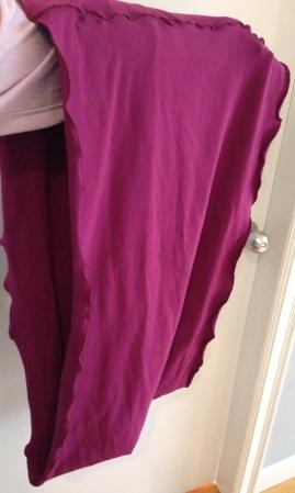 Angelrox violet Loop Shawl compare - 6