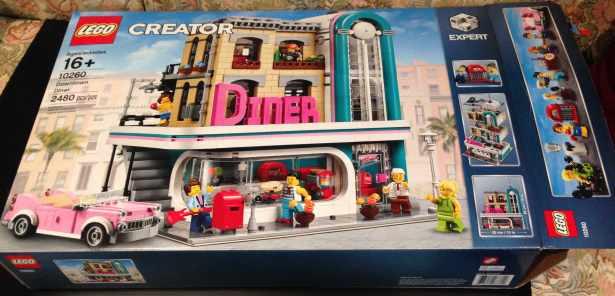 Lego Diner set - 1
