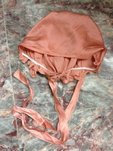 Silk sleep bonnet - 1