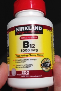 Vitamin bottle B12 - 1