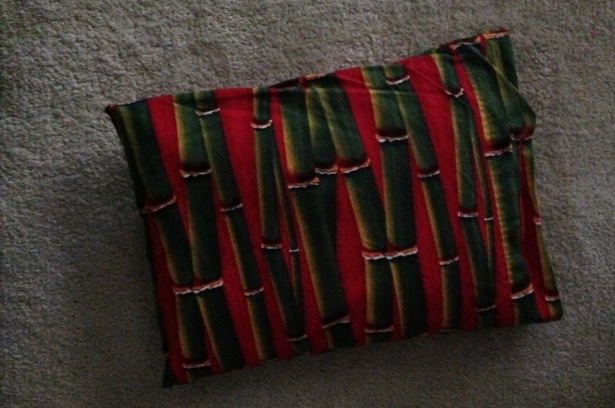 Pillow on carpet - 1