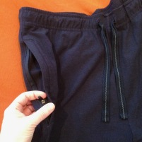 QOR wardrobe packing bottoms Coolibar zip pocket - 1