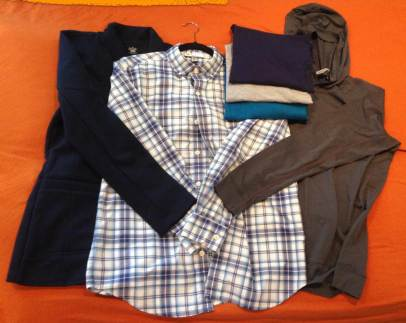 Teen capsule wardrobe TOPS