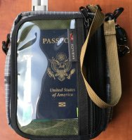 Tom Bihn Travel Cubelet with pocket pouch passport - 1