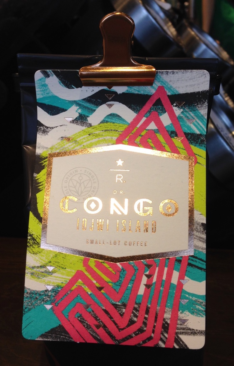 Starbucks Reserve Congo Idjwi Island coffee package
