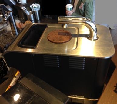 Starbucks coffee shop Clover specialty brewing machine