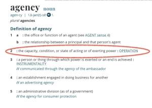 define agency
