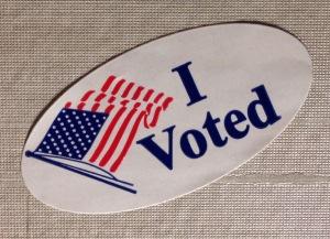 I voted Election sticker - 1