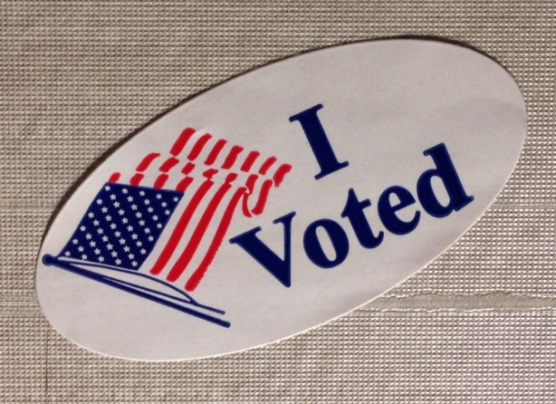 I voted Election sticker - 1