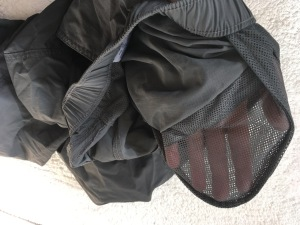 Columbia Silver Ridge pants interior mesh pocket detail