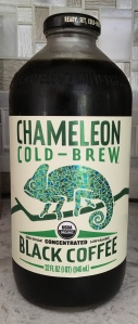 Coffee bottle, Chameleon Cold Brew brand
