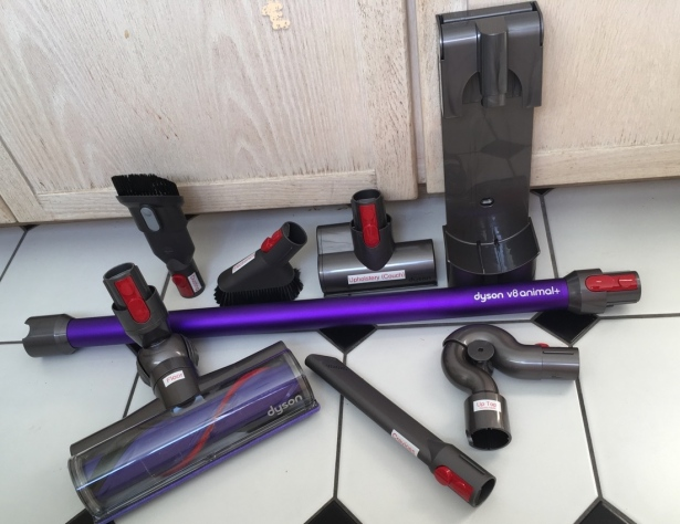 Dyson V8 Animal+ vacuum attachments and accessories
