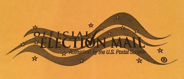 Official Election Mail trademark authorized by US Postal Service