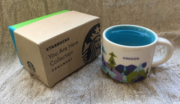 Starbucks wish you were here ornament demitasse - 1