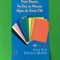 Creatology brand EVA Foam Sheets craft material