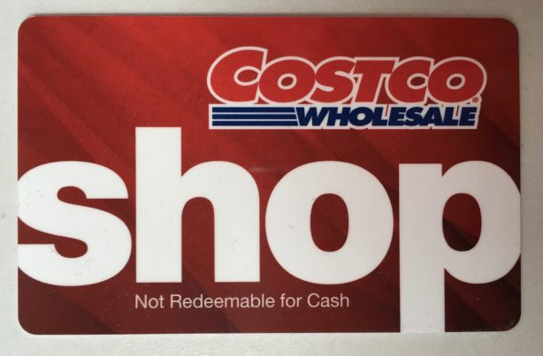 Costco Shop Card gift certificate - 1