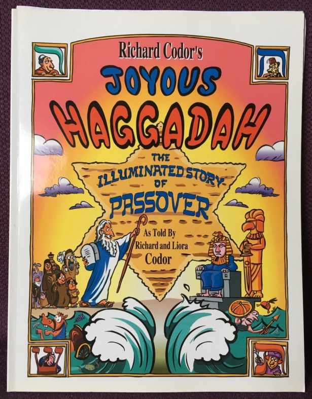 Cover of Richard Codor's Joyous Haggadah book