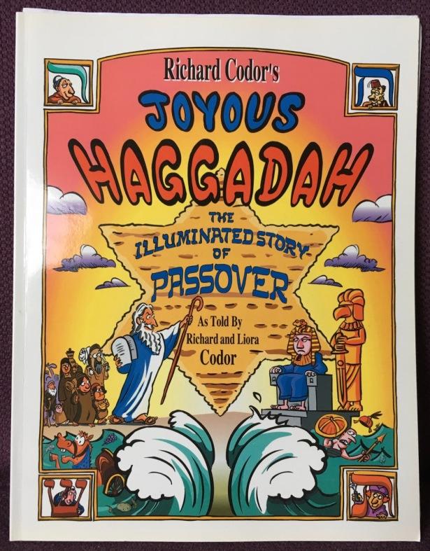 Cover of Richard Codor's Joyous Haggadah book